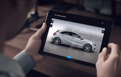 Noul Mercedes-Benz A-Class - spot publicitar