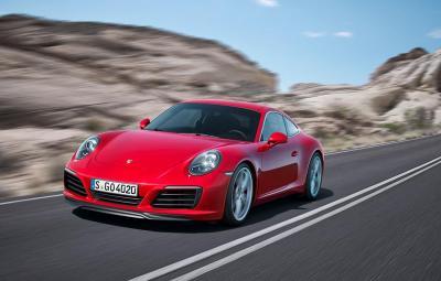 Noul Porsche 911 Carrera 2016