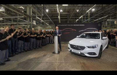 Opel Insignia Grand Sport - startul productiei