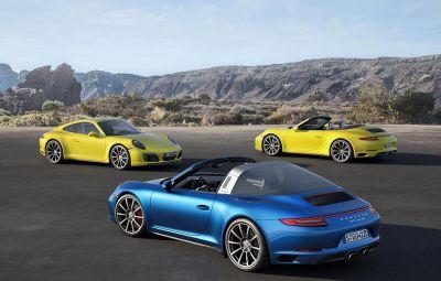 Noile Porsche 911 Carrera 4 si Targa 4