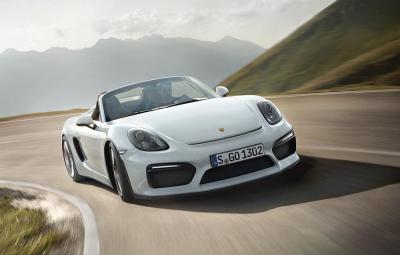 Noul Porsche Boxster Spyder