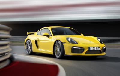 Noul Porsche Cayman GT4