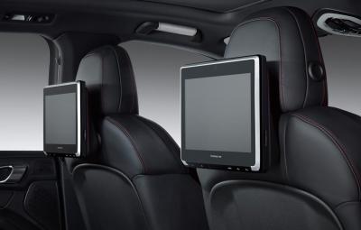 Porsche Rear Seat Entertainment