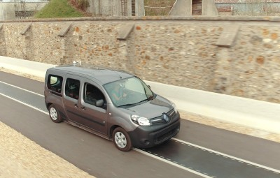 Renault Kangoo ZE - incarcare wireless