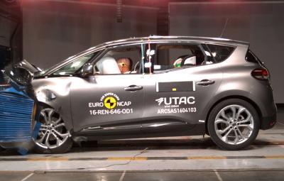 Renault SCENIC - Euro NCAP 2016