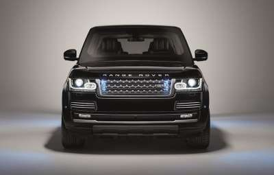 Noul Range Rover Sentinel
