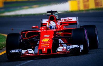 Sebastian Vettel - castigator Australia 2017