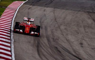 Sebatien Vettel - castigator Malaezia 2015