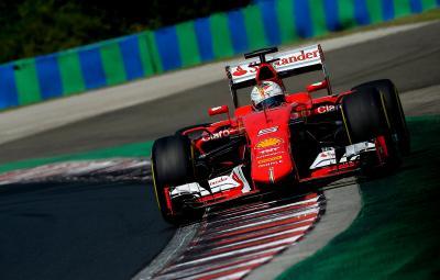 Sebastian Vettel - castigator Hungaroring 2015