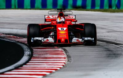 Sebastian Vettel - pole position Hungaroring 2017
