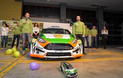 Simone Tempestini - castigator Raliul Brasovului 2016 - Tess Rally 45 Pro-X