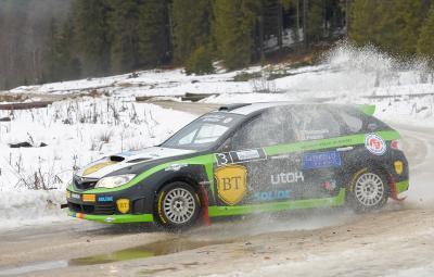 Simone Tempestini - castigator Covasna Winter Rally 2015
