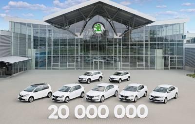 SKODA - 20.000.000 de masini produse