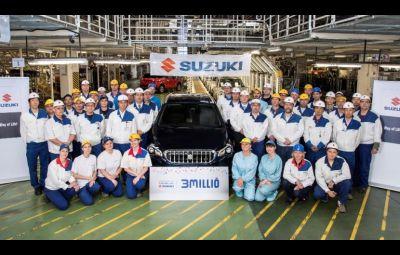 Suzuki 3.000.000 masini - Ungaria
