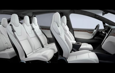 Tesla Model X - probleme airbag