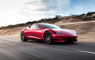 Tesla Roadster - Video