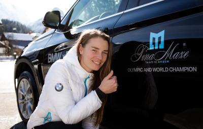Tina Maze - nou ambasador BMW