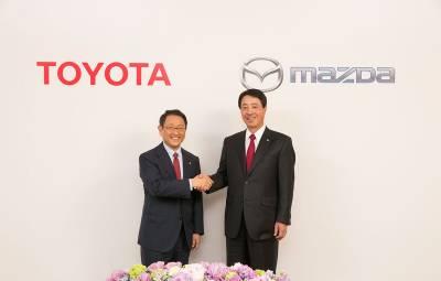 Toyota si Mazda - fabrica SUA