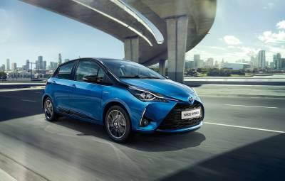 Toyota Yaris Hybrid - AVIS Romania