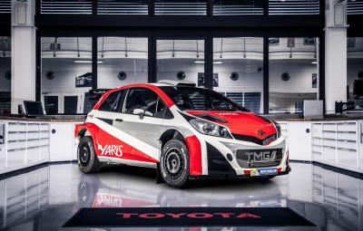 Noua Toyota Yaris WRC 2017