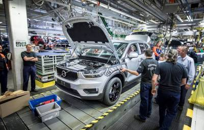 Volvo XC40 - start productie