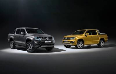 VW Amarok Aventura Exclusive si Dark Label