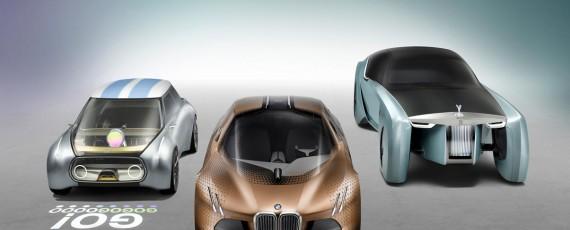 BMW, MINI si ROLLS-ROYCE VISION NEXT 100