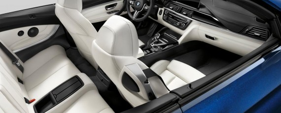 BMW M4 Convertible Individual - interior