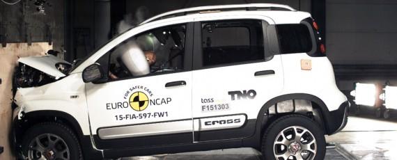 Fiat Panda Cross - trei stele Euro NCAP