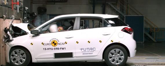 Noul Hyundai i20 - patru stele Euro NCAP