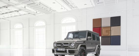 Mercedes AMG G Exclusive Edition 1