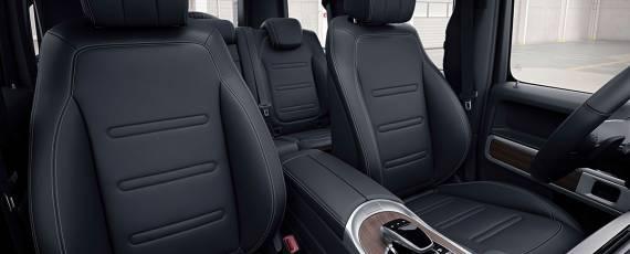 Mercedes-Benz G-Class 2018 - interior (04)