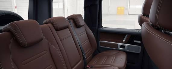 Mercedes-Benz G-Class 2018 - interior (05)