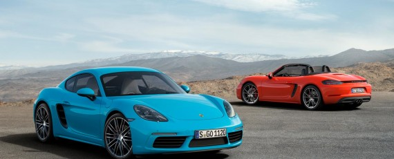 Noile Porsche 718 Cayman S si 718 Boxster S