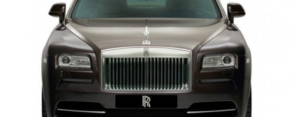 Rolls-Royce Wraith - faţă