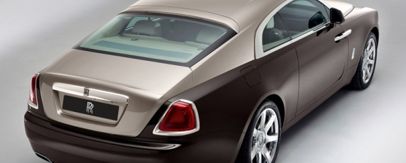 Rolls-Royce Wraith - lateral spate