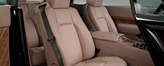 Rolls-Royce Wraith - scaunele faţă