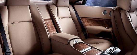 Rolls-Royce Wraith - scaunele spate
