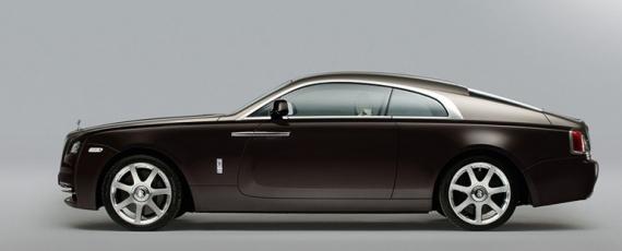 Rolls-Royce Wraith - lateral stanga