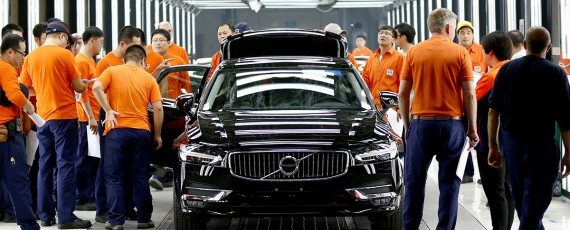 "Volvo S90 ""Made in China"" exportat in Europa (04)"