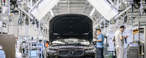 "Volvo S90 ""Made in China"" exportat in Europa (05)"