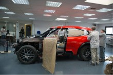 Citreon Aircross - making of