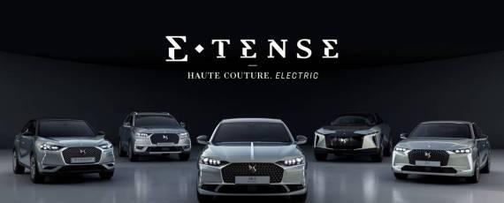 DS Automobiles - gama electrificata