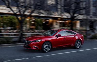 Mazda6 facelift 2017