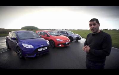 Chris Harris compara ST-RS-VXR