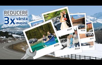 Dacia - De 3 x vârsta maşinii