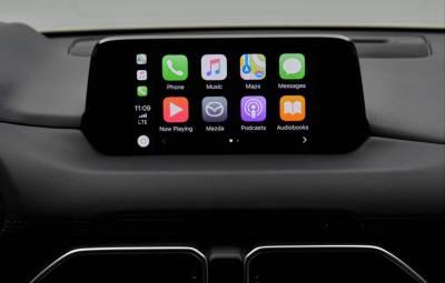 Mazda - Apple CarPlay
