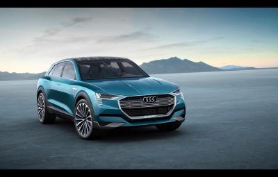 Noul Audi e-tron quattro