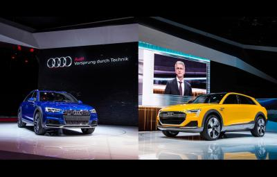 Noul Audi A4 allroad quattro - Conceptul Audi h-tron quattro