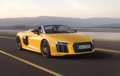 Noul Audi R8 Spyder V10 - video
